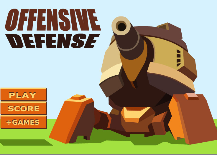 Online hra Offensive Defense