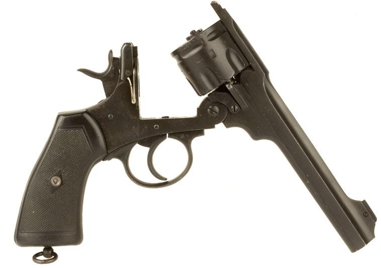 Replika revolveru Webley MK4