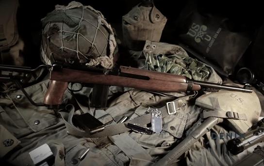 Video replika karabiny M1A1 pro výsadkáře 1941