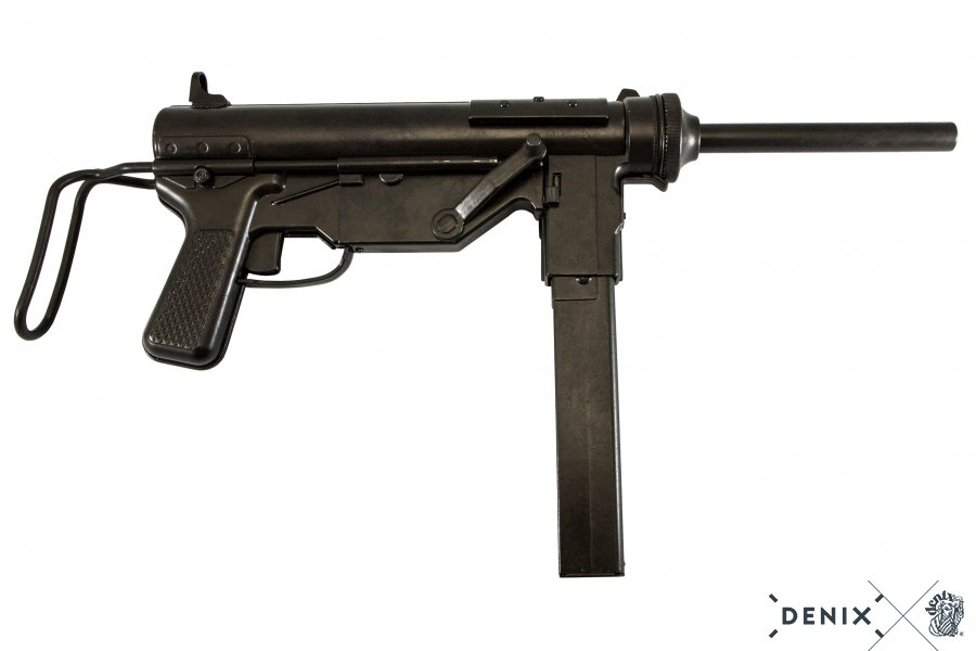 Replika samopalu M3 Grease GUN